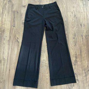 CAbi 619R Pinstripe Dress Pants Trousers Women's 6